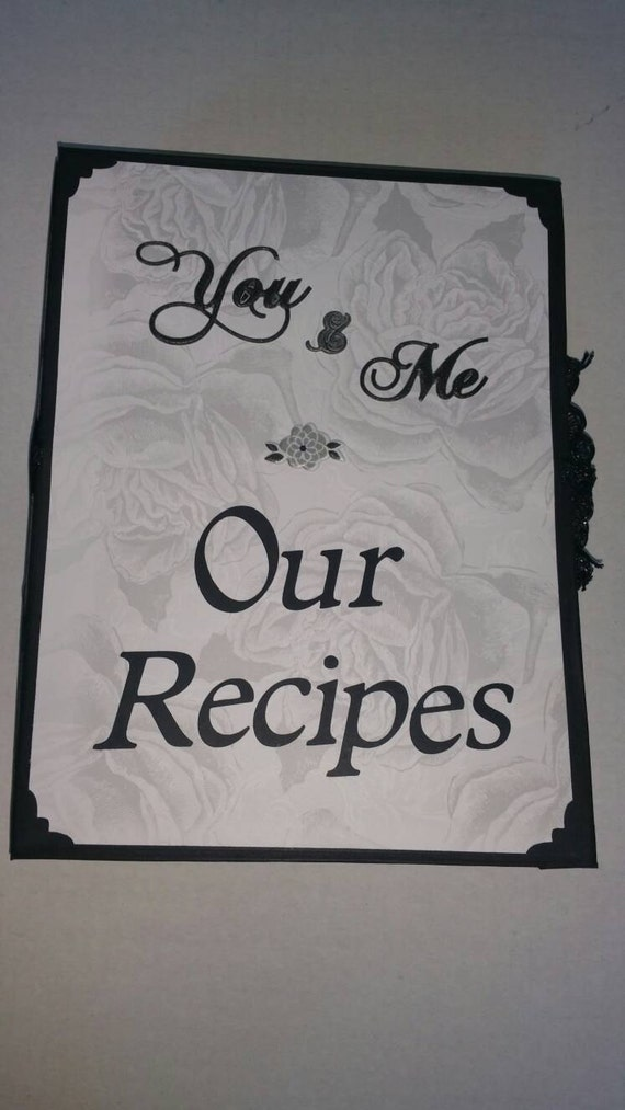 Wedding Gift Recipe Cards : ... , Wedding Recipe Book with blank recipe cards included Great Gift