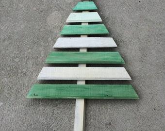 Wooden Slat Christmas Tree