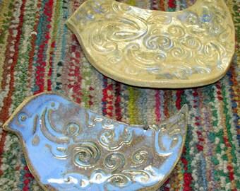 Ceramic Bird Dishes