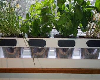 Kitchen Herb Planter Herb Garden White