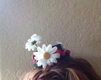 Mary Poppins Hat Inspired Hair Clip