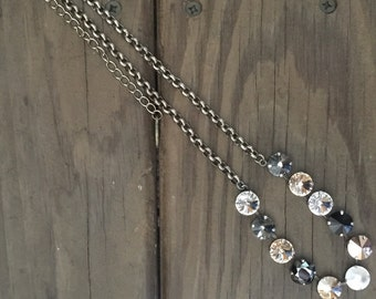 Mixed Neutrals 12mm Necklace