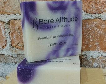 Lavender Olive Oil Soap Bar (Vegan, Palm Free)