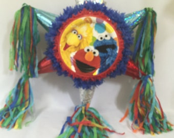 Sesame Street Pinata Handcrafted