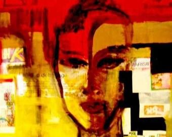 """""""Pride"""" oil painting"""