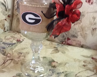 Georgia redneck wine glass!
