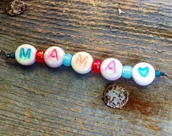Bracelet tie 'Mama'