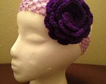 Homemade Flower Headband