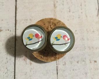 Lovebird Earrings