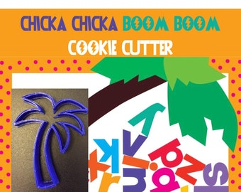 Chicka Chicka Boom Boom Cookie Cutter