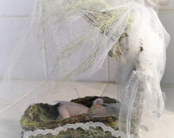 Unique Fairy Cradle (baby not included)