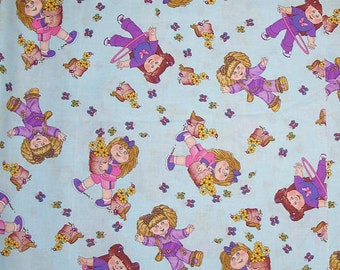 Cabbage Patch Kids, Quilt or Craft Fabric, Fabric