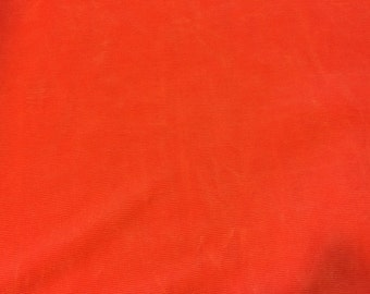 Gorgeous Salmon Colored Slinky Fabric  2 Yards x 54""