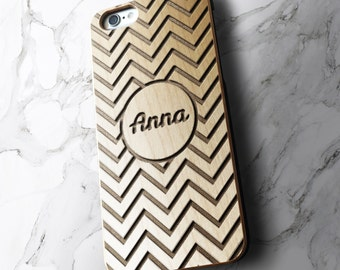 Personalised Name Phone Case   Real Wood iPhone Case   wooden iPhone 7 case   iPhone 6 Cover   iPhone 6S Case   Samsung S6 S7