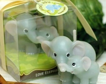 Elephant Mum & Baby 3D Silicone Mould