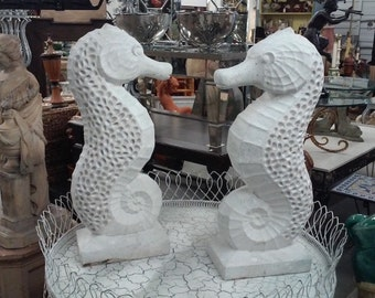 Stone Seahorses
