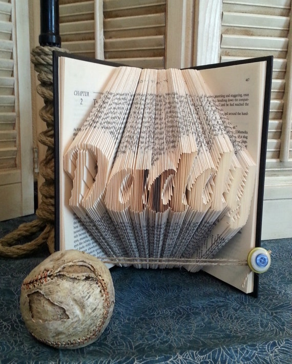 Daddy Book Fold