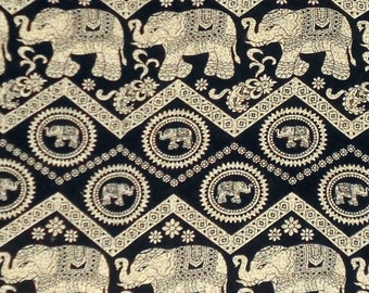 scarf, elephant print scarf