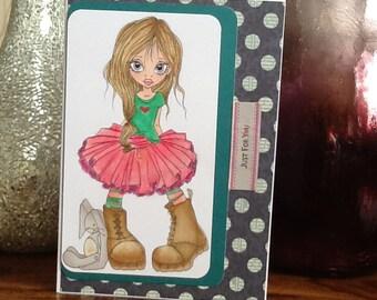 Sweet Girl Card