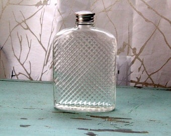 Vintage 1927 Glass Flask