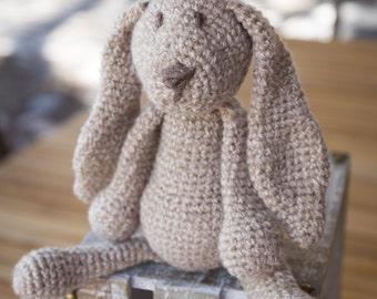 Hand Crocheted Rabbit