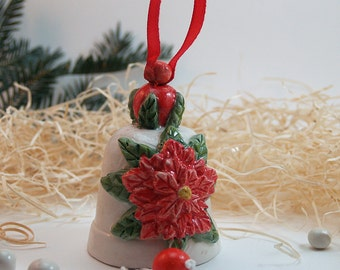 ceramic Christmas Bells