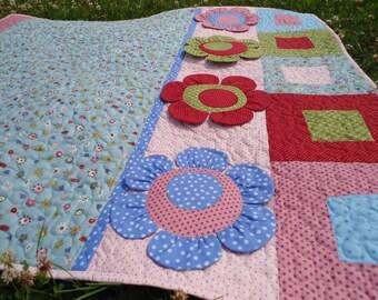 Children quilt / patchwork quilt