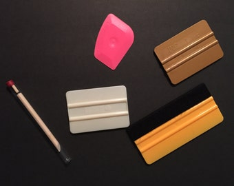 Squeegee, Vinyl Tools, Squeegee Tool, Vinyl Applicator, Craft Supplies, Craft Tools, Craft Picks