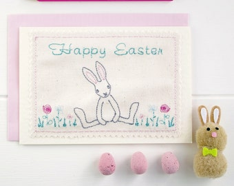 Easter Card, Bunny Card, Greetings Card, Rabbit Card