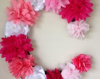 Decorative Flower Letter