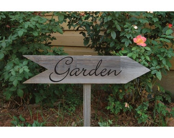 Garden sign decal vinyl sticker for your home decoration walls for hotel restaurant flower