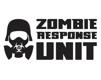 Zombie Response Unit Etsy