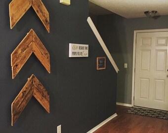 Wooden Chevrons/Arrows