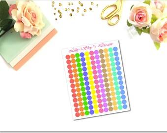 FN03 Dots Rainbow Bold Little