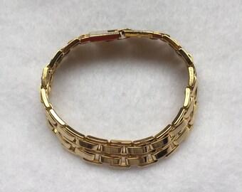 Vintage goldtone bracelet