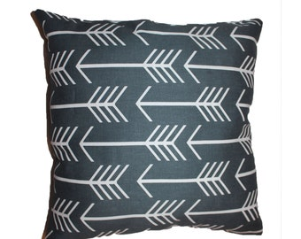 "Arrow Linen Pillow - 16"" x 16"""