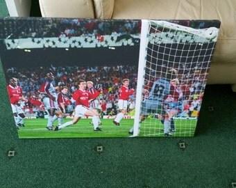 Manchester United Ole Gunnar Solskjaer Champions League Winning Goal