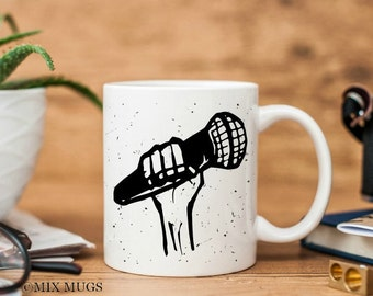 Musician Mug, Gifts for Musicians, Music Gifts, Music Teacher Gift, Music Art. Music Cup, Music Lover Gift, Gifts for Singers (a2111)