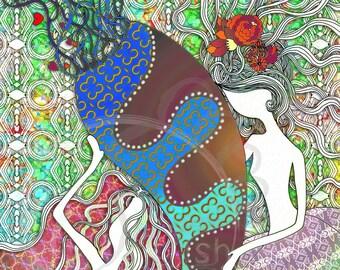 Love_Healing - Digital Print (Matte Paper)