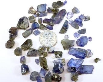 32.16g natural tanzanite crystal rough (Merelani Hills, Arusha, Tanzania)