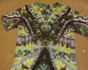 Upcycled tie dye t-shirt