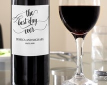 Wine labels for wedding | Personalised wine labels wedding | Wedding Wine Labels | Wedding Wine Label  | DIY Party Invitation