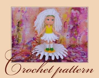 Chamomile - Amigurumi Crochet Pattern PDF file by Anna Sadovskaya