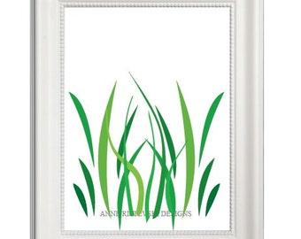 Nature Prints, Nature Wall Art, Nature Printables, Green Artwork, Nature Artwork, Tall Grass Prints, Grass Prints, Nature Art, Printable Art