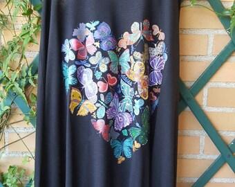 Heart of butterflies