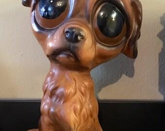 Vintage Enesco Big Eyed Puppy