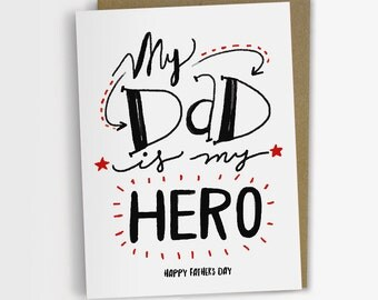Fathers Day Card, Humorous card, Father's Day card, Funny Card for Dad, Gift for Dad, Happy Father's Day, Dad Birthday Card.