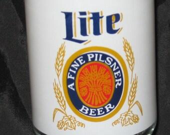 Lite A Fine Pilsner Beer Glass