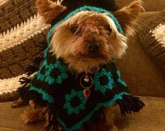 Doggie Hooded Poncho