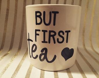 But first, tea mug.